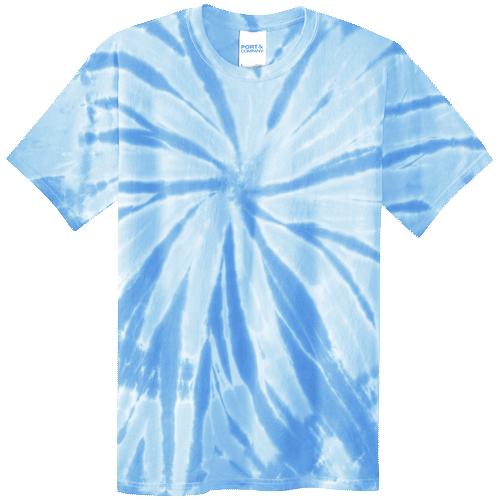 Light Blue Youth Tie-Dye T-Shirt