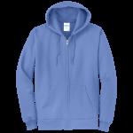 Carolina Blue Full-Zip Hooded Sweatshirt
