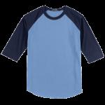 Carolina Blue/Navy Blue BB-Tee