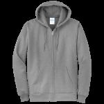 Athletic Heather Full-Zip Hooded Sweatshirt