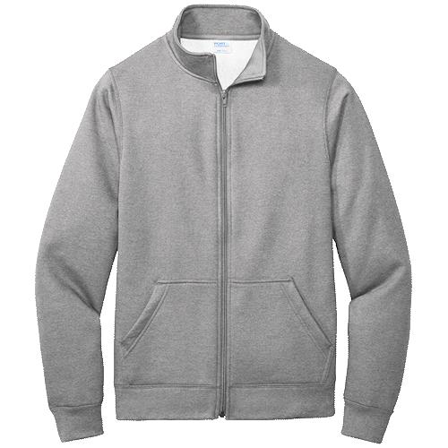 Athletic Heather Cadet Full-Zip Sweatshirt