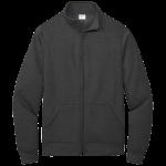 Dark Heather Grey Cadet Full-Zip Sweatshirt
