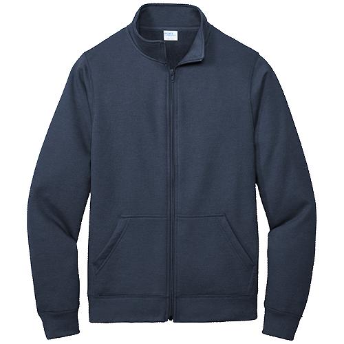 Navy Blue Cadet Full-Zip Sweatshirt