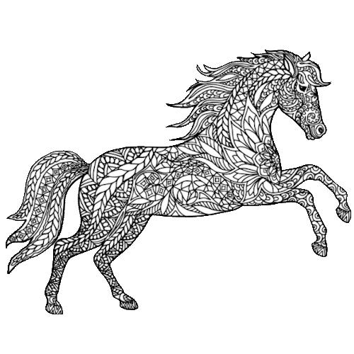 Horses (Pencil Art)