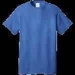 Heather Royal Short Sleeve Tee Shirt