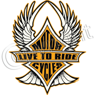 Live to Ride (wings)