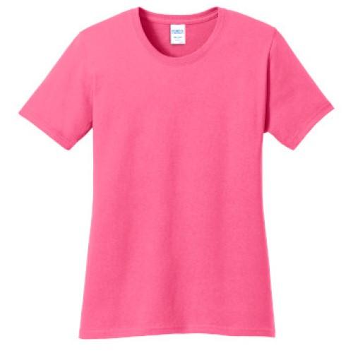 Neon Pink Ladies Tee