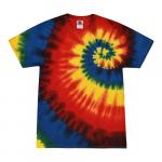 Rainbow Burst Youth Tie Dye Tee