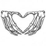 Skeleton (Heart Bone Hand)