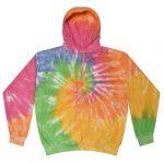 Eternity Tie-Dye Pullover Hooded Sweatshirt