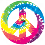 Peace Sign (Tie Dye)