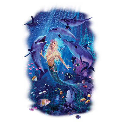 Mermaid (Ocean Friends) Not Solar