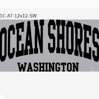 Ocean Shores (Words Font Only)