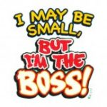 I May Be Small But I'm The Boss