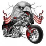 Eagle Biker