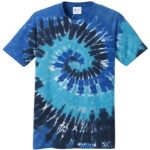 Ocean Rainbow Adult Tie-Dye T-Shirt