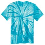 Turquoise Adult Tie-Dye T-Shirt