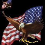 Eagle (with Flag)