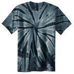 Black Adult Tie-Dye T-Shirt