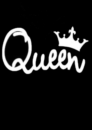 Queen (cursive)