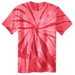 Red Adult Tie-Dye T-Shirt