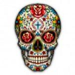 Skull (Sugar Skull with Roses)