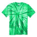 Kelley Green Burst Adult Tie-Dye T-Shirt