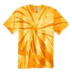 Gold Adult Tie-Dye T-Shirt