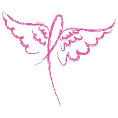 Cancer Wings (Ribbon)