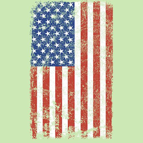 Flag (Grunge Verticle)