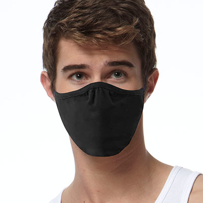 Blank 2-Ply Adult Face Mask