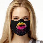 Face Mask Print (Sugar Lips)
