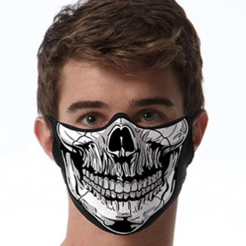 Face Mask Print (Skull)