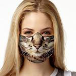 Face Mask Print (Cat)