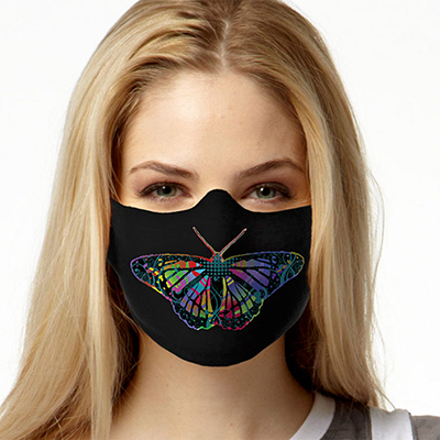 Face Mask Print (Butterfly)
