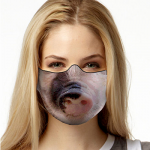 Face Mask Print (Pig)
