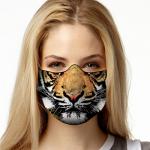 Face Mask Print (Tiger)