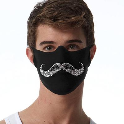 Face Mask Print (Mustache)