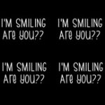 I'm Smiling (Mask Print)