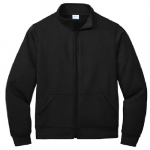 Jet Black Cadet Full-Zip Sweatshirt