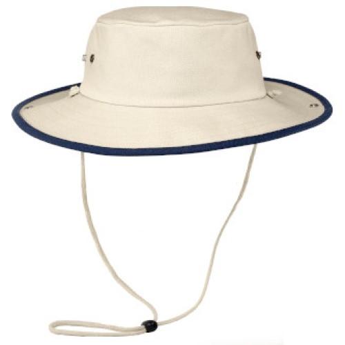 Tan Bucket Hat W/string (Outback Hat)