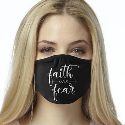 Face Mask Print (Faith over Fear)