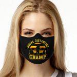 Face Mask Print (Social Distancing Champ, Sasquatch)
