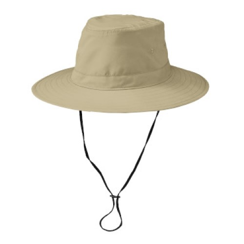 Brim Hat with cord (Stone)