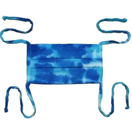 Face Mask Kaiser (Tie Dye Multi Blue)