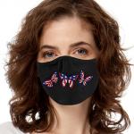 Face Mask Print (Flag Butterflies)