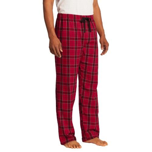 Flannel Plaid Pants (Men's New Red)