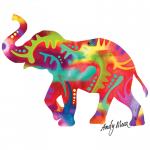 Elephant (Colorful – Andy Maxx)