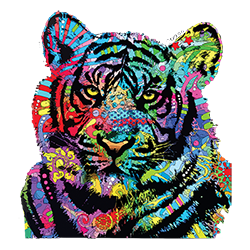 Tiger (Colorful)
