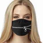 Face Mask Print (Zipper)